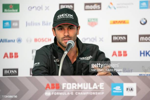 Felipe Nasr of GEOX DRAGON during the Hong Kong EPrix Preevent press conferenceon March 09 2019 in Hong Kong