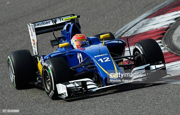 Felipe Nasr of Sauber F1 Team on track during the Formula One Grand Prix of China at Shanghai International Circuit on April 17 2016 in Shanghai China