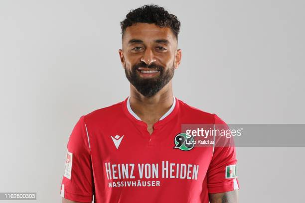 Felipe of Hannover 96 poses during the team presentation at HDIArena on July 18 2019 in Hanover Germany