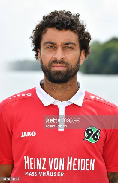 Felipe of Hannover 96 poses during the team presentation at on July 14 2017 in Hanover Germany
