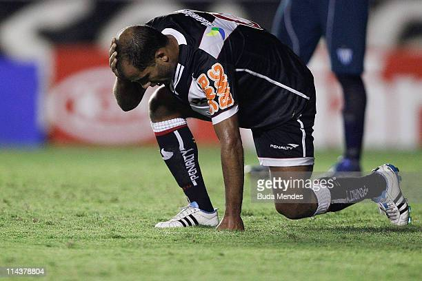 Felipe of Vasco reacts during a match as part of Brazil Cup 2011 at Sao Januario stadium on May 18 2011 in Rio de Janeiro Brazil