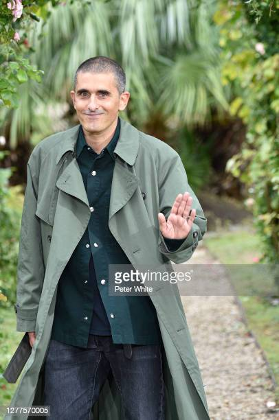 Felipe Oliveira Baptista acknowledges the applause of the public after the Kenzo Womenswear Spring/Summer 2021 show as part of Paris Fashion Week on...