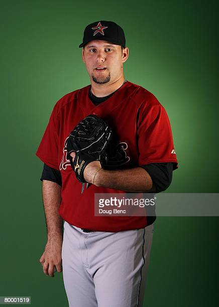 Felipe Paulino of the Houston Astros poses during Spring Training Photo Day at Osceola County Stadium on February 25 2008 in Kissimmee Florida