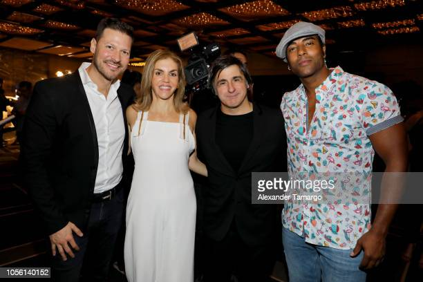 Felipe Pimiento COO Magnus Media Leila Cobo Executive Director Latin Content Programming and Afo Verde Chairman/CEO of Latin America Spain and...