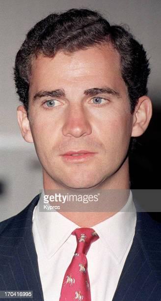 Felipe Prince of Asturias circa 1995