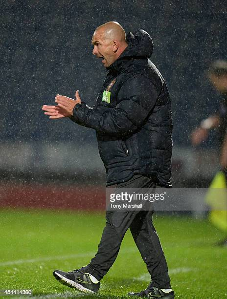 Felipe Ramos Head Coach of Portugal during the Under 17 International match between England U17 and Portugal U17 at Proact Stadium on August 29 2014...