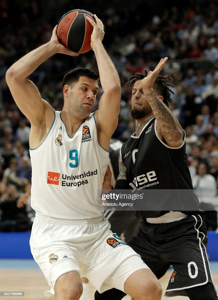 Real Madrid vs Brose Bamberg: Turkish Airlines Euroleague : News Photo