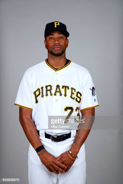 Felipe Rivero of the Pittsburgh Pirates poses during Photo Day on Sunday February 19 2017 at LECOM Park in Bradenton Florida