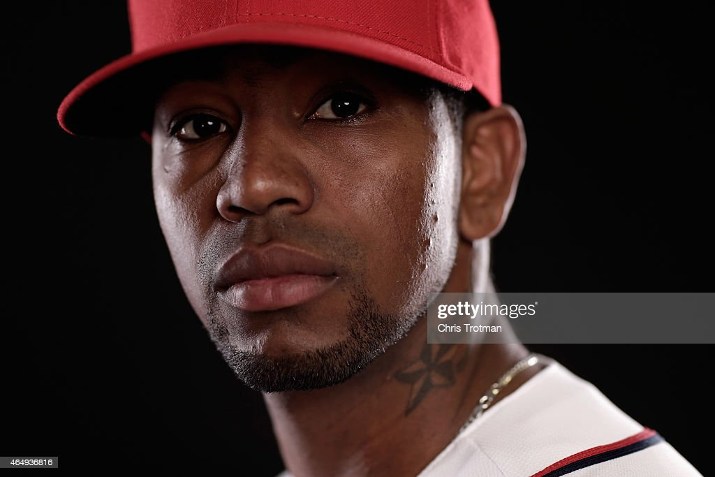 Felipe Rivero #73 of the Washington Nationals poses for a portrait during photo day at Space Coast Stadium on March 1, 2015 in Viera, Florida.