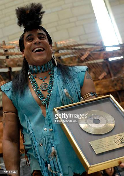 Felipe Rose an original member of the late1970's music group the Village People donated his personal gold record of the iconic YMCA to the National...