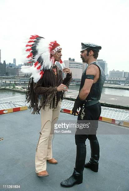 Felipe Rose and Glenn Hughes of the Village People