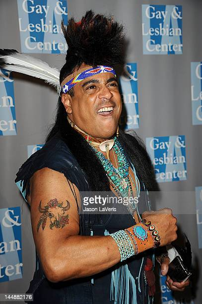 Felipe Rose of the Village People attends the LA Gay Lesbian Center's An Evening With Women at The Beverly Hilton Hotel on May 19 2012 in Beverly...