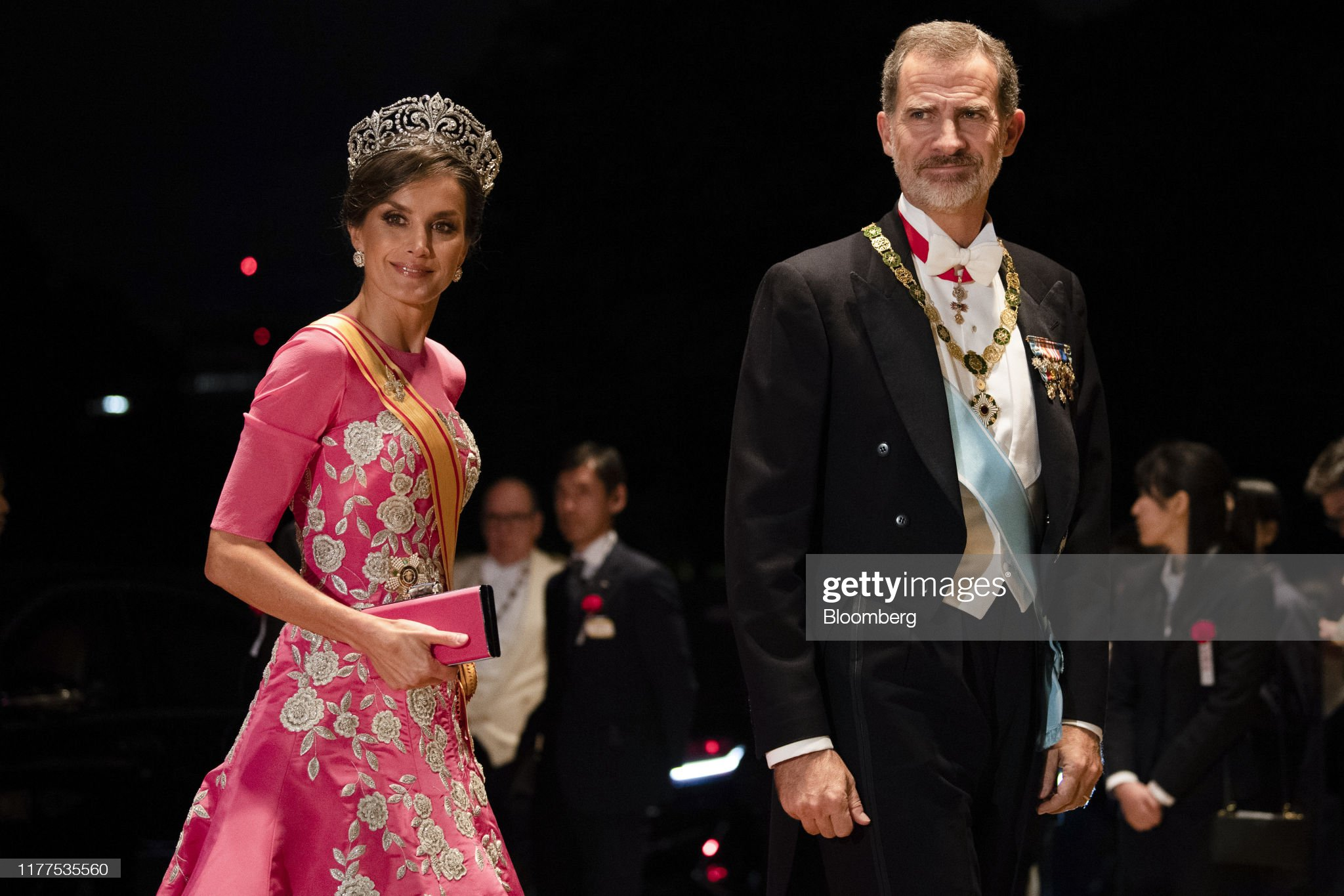 Japan Celebrates Accession of New Emperor As World Watches : News Photo