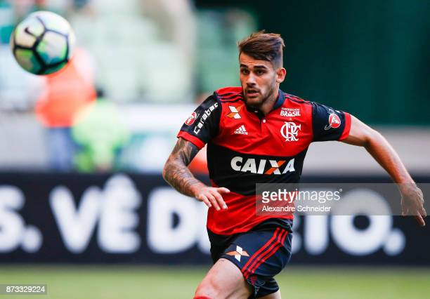 Felipe Vizeu of Flamengo in action during the match between Palmeiras and  Flamengo for the Brasileirao bfbf9c172b614