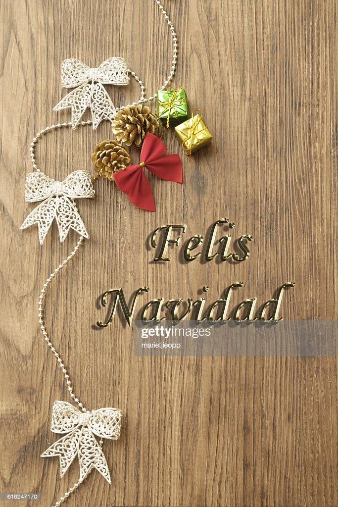 Felis Navidad : Stock Photo