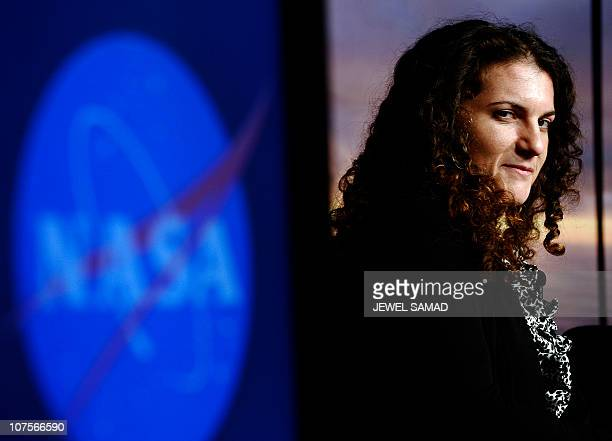 Felisa WolfeSimon lead researcher of NASA astrobiology research fellow speaks during a news conference at the NASA Headquarters in Washington DC on...