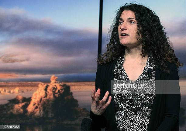 Felisa WolfeSimon NASA astrobiology research fellow speaks during a news conference at NASA Headquarters to announce a finding a potential new form...