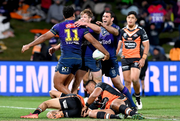 AUS: NRL Rd 15 - Storm v Wests Tigers