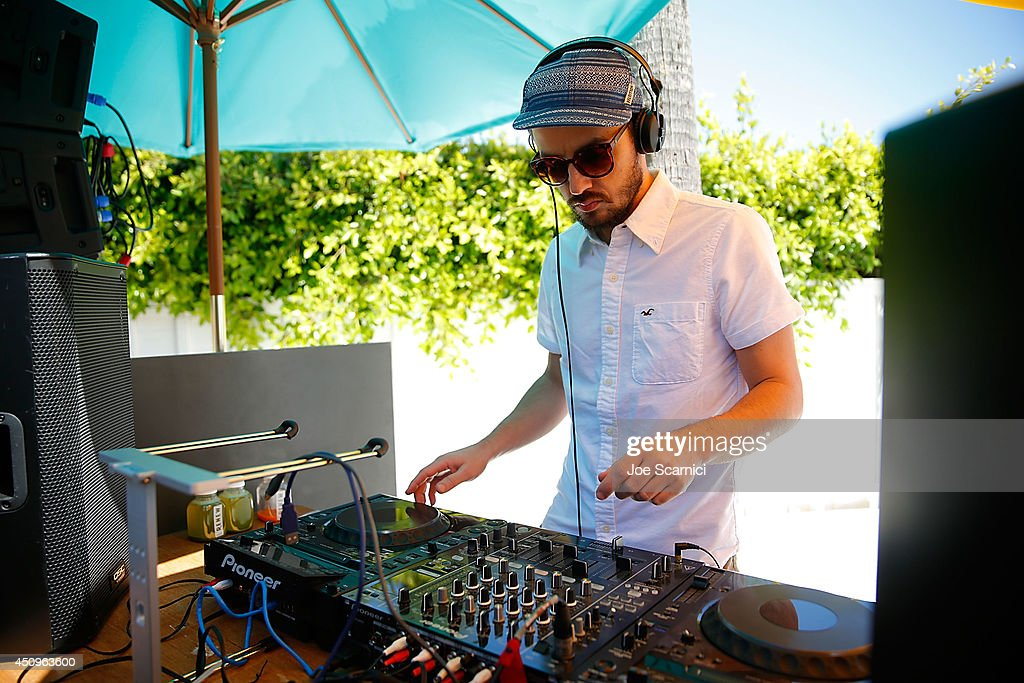 Hollister House Summer Concert Series Presents Chromeo And Plastic Plates In Concert : News Photo