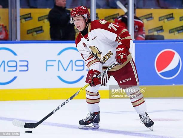 Felix Boivin of the Acadie-Bathurst Titan skates during his QMJHL hockey game at the Centre Videotron on November 9, 2016 in Quebec City, Quebec,...