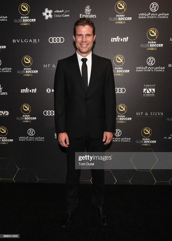 Felix Brych attends the Globe Soccer Awards 2017 on December 28, 2017 in Dubai, United Arab Emirates.