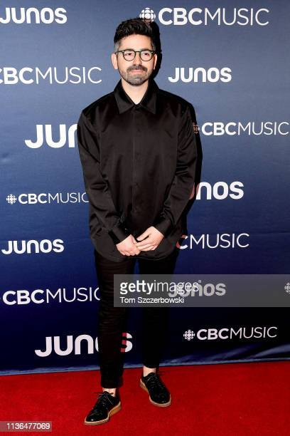 Felix Cartal attends the 2019 Juno Awards Arrivals at Budweiser Gardens on March 17 2019 in London Canada