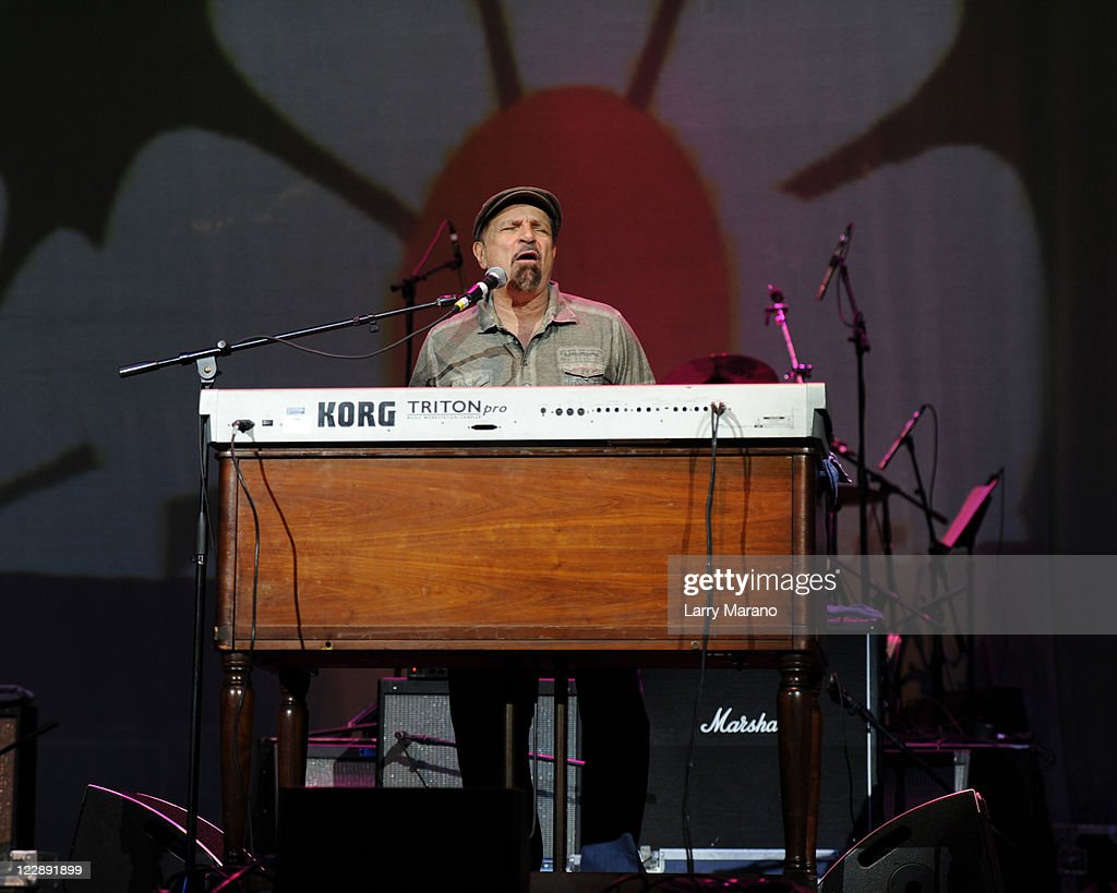 Felix Cavaliere performs during Hippiefest at Seminole Hard Rock Hotel on August 28, 2011 in Hollywood, Florida.