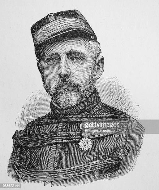 Felix Charles Douay, 1816 - 1879, was a general in the French army, Situation from the time of The Franco-Prussian War or Franco-German War,...
