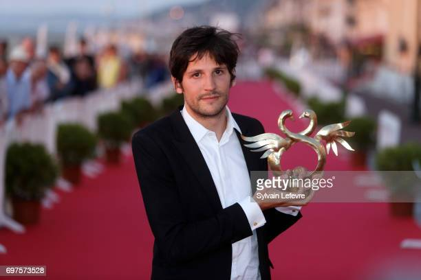 Felix de Givry attends the Winners' Red Carpet after the closing ceremony of 31st Cabourg Film Festival on June 17 2017 in Cabourg France