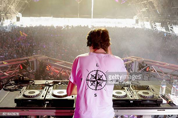 Felix De Laet of Lost Frequencies performs onstage during day 2 of the 2016 Coachella Valley Music Arts Festival Weekend 1 at the Empire Polo Club on...