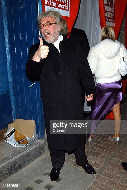 Felix Dennis of Maxim Magazine during 2005 FHM Sexiest Women Party Arrivals at Umbaba in London Great Britain