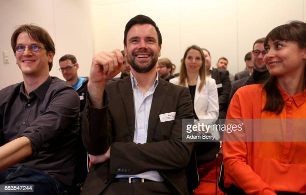 Felix Falk head of the BIU attends the BIU presentation of a survey of the German computer and video game industry at AxicaKongress und...