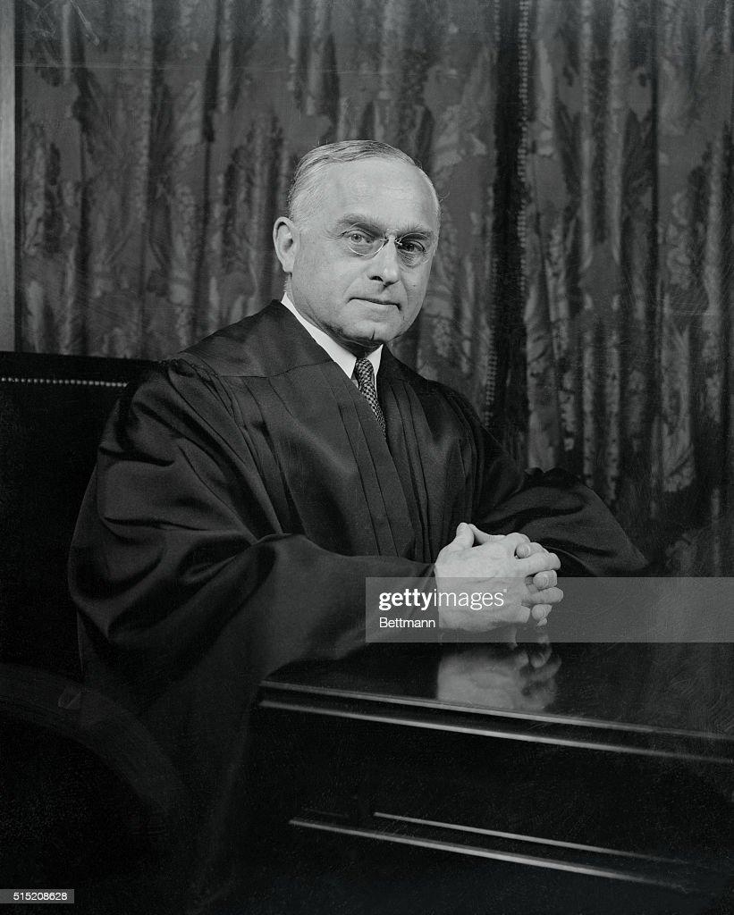 Portrait of Felix Frankfurter : Nachrichtenfoto