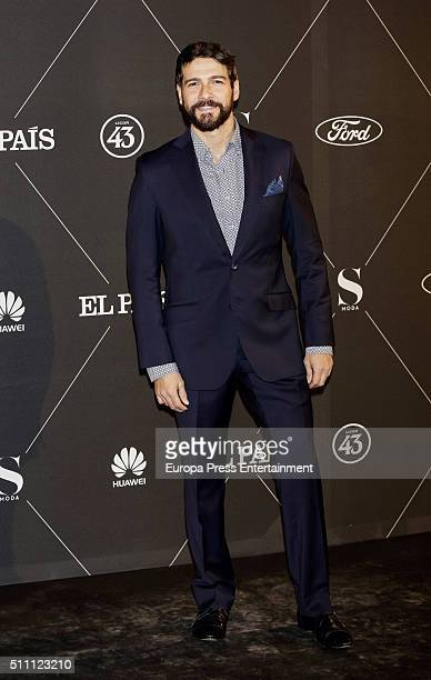 Felix Gomez attend 'S Moda' Awards 2016 at Real Academia de Bellas Artes de San Fernando on February 17 2016 in Madrid Spain