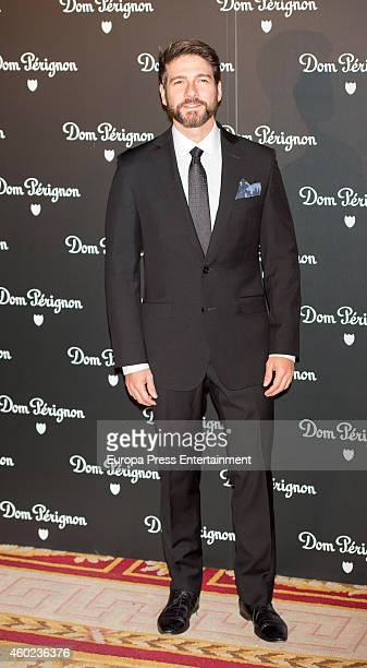 Felix Gomez attends Dom Perignon party at Pinto Duarte Palace on December 9 2014 in Madrid Spain