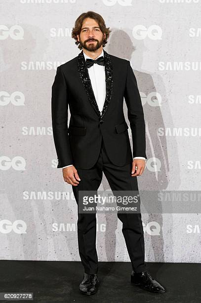 Felix Gomez attends 'GQ Men Of The Year Awards 2016' photocall at Palace Hotel on November 3 2016 in Madrid Spain