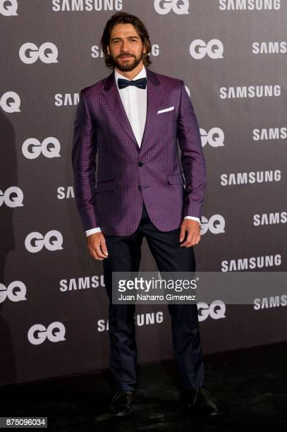 Felix Gomez attends 'GQ Men Of The Year' awards 2017 at The Westin Palace Hotel on November 16 2017 in Madrid Spain