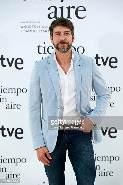 Felix Gomez attends 'Tiempo Sin Aire' photocall at Princesa Cinema on April 27 2015 in Madrid Spain