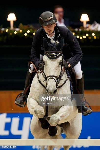 Felix Hassmann attends during CSI Casas Novas Horse Jumping Competition on December 10 2017 in A Coruna Spain