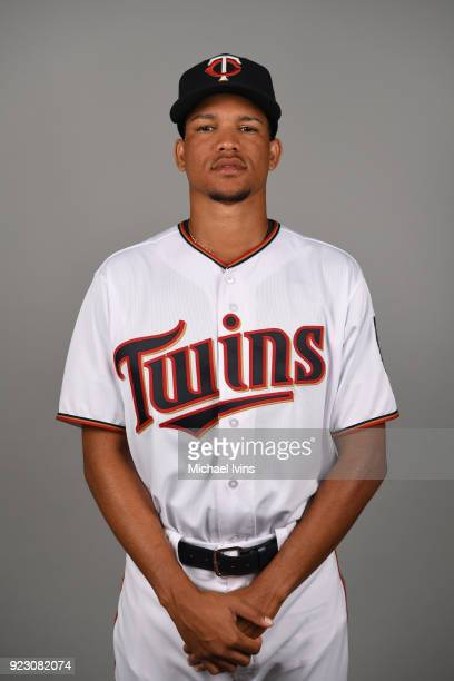 Felix Jorge of the Minnesota Twins poses during Photo Day on Wednesday February 21 2018 at CenturyLink Sports Complex in Fort Myers Florida