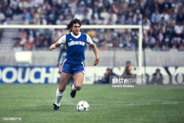 Felix Lacuesta of Bastia during the French national cup final match between Bastia and St Etienne at Parc des Princes Paris France on June 13 1981