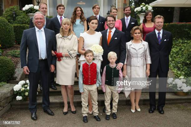 Felix Lademacher Prince Sebastien Princess Tessy Prince Louis Crown Princess Stephanie Crown Prince Guillaume Hartmut Lademacher Gabriele...