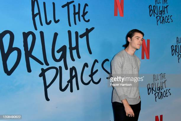 Felix Mallard attends the Special Screening of Netflix's All The Bright Places at ArcLight Hollywood on February 24 2020 in Hollywood California