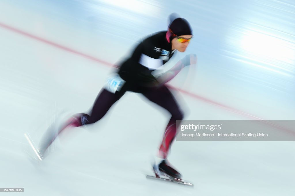 World All-round Speed Skating Championships - Day One : News Photo