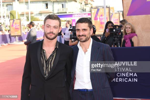 Felix Maritaud and his guest attend the Award Ceremony during the 45th Deauville American Film Festival on September 14 2019 in Deauville France