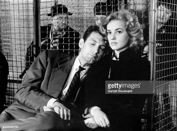 Felix Martin and Jeanne Moreau in 'Lift to the Scaffold' directed by Louis Malle