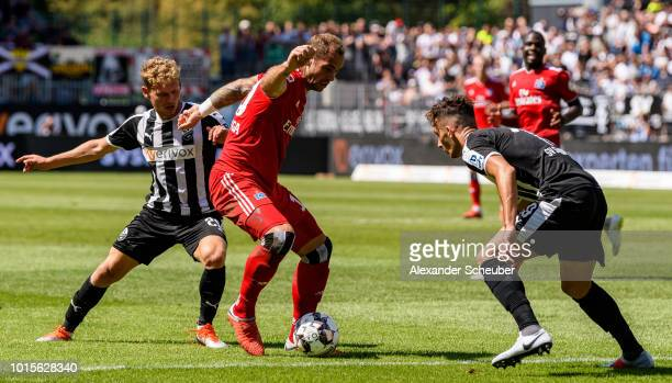 Sandhausen V Hamburger Sv Second Bundesliga Stock Fotos Und Bilder