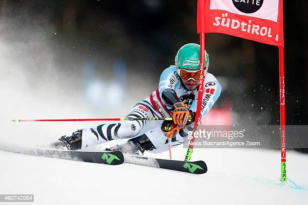 Felix Neureuther of Germany competes during the Audi FIS Alpine Ski World Cup Men's Giant Slalom on December 21 2014 in Alta Badia Italy