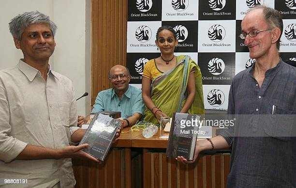 Felix Padel the greatgreatgrandson of Charles Darwin at the launch of his book 'Out of This EarthEast India Adivasis and the Aluminum Cartel' in New...