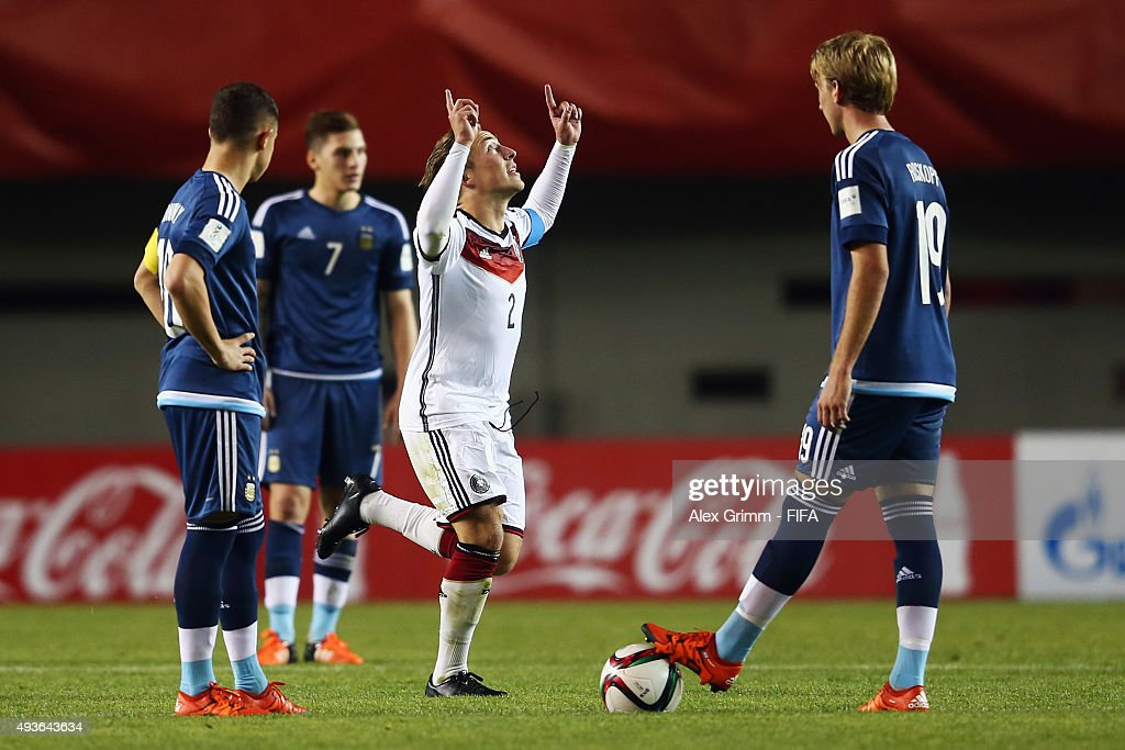 Argentina v Germany: Group C - FIFA U-17 World Cup Chile 2015